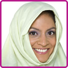 woman in headscarf
